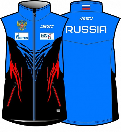 картинка Жилет TORNADO vest man petrol/blue/red 20V102.RUS1 от магазина